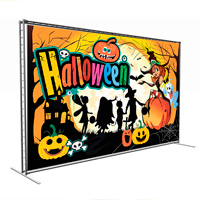 Дизайн Press Wall для праздника Halloween
