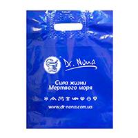 Дизайн полиэтиленового пакета для компании Dr. Nona