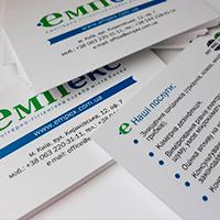 Дизайн и печать корпоративной визитки