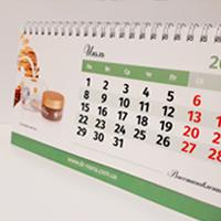 Перекидной настольный календарь 2019