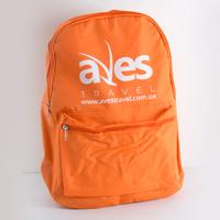 Печать логотипа на рюкзаке