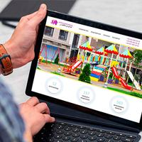 Создание сайта для производителя детских площадок