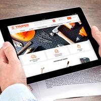 Создание сайта для интернет-магазина инструментов