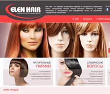 Створення сайта-каталогу для Elen Hair