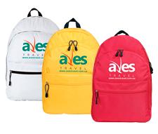 "Друк логотипу на рюкзаках для ТО ""Aves Travel"""