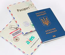 Печать логотипа на обложке загранпаспорта