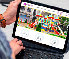 Створення сайту для виробника дитячих майданчиків