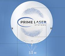Дизайн на рекламном шаре d=5м