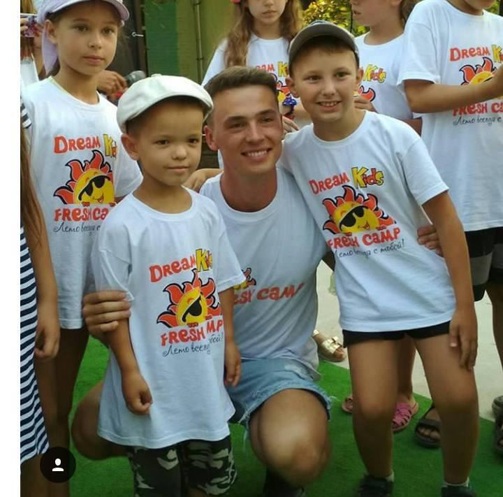 Дизайн футболки для лагеря Fresh Camp