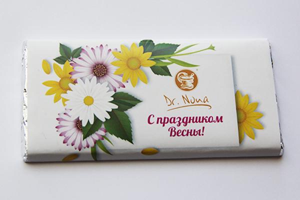 Этикетка для шоколадки 85 г