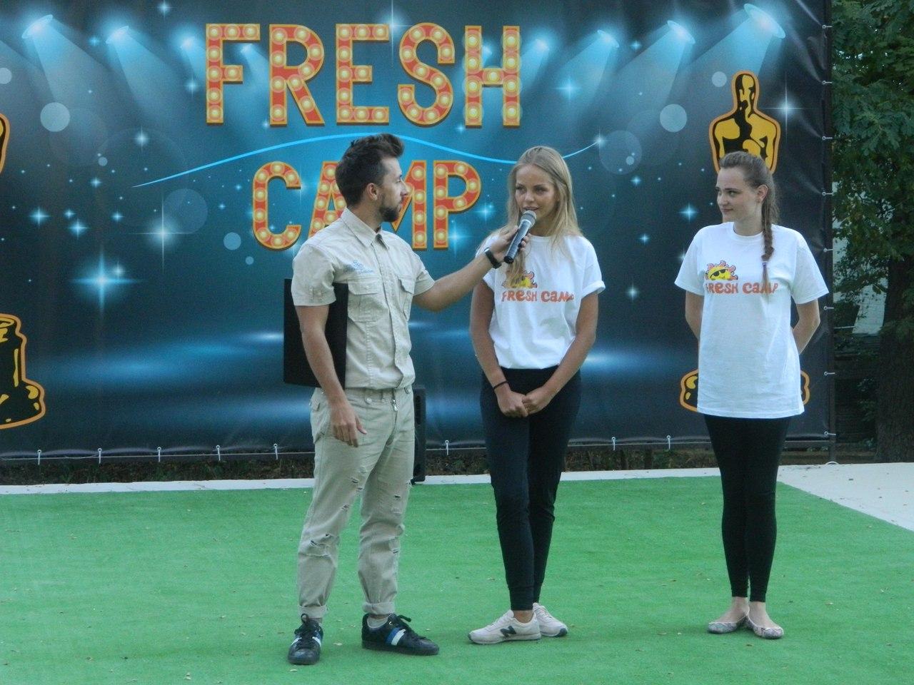 Дизайн баннера 250х500 см для лагеря Fresh Camp