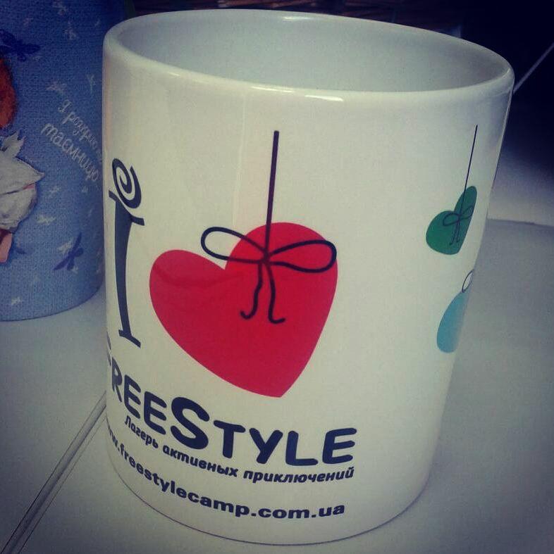 Дизайн чашки для лагеря Freestyle