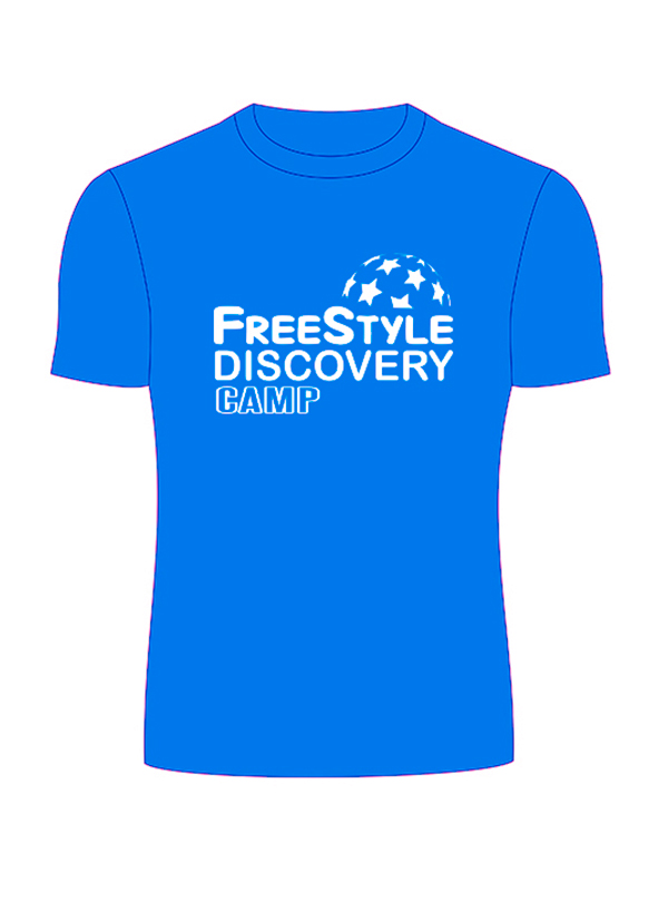 Дизайн футболок для лагеря Freestyle Discovery